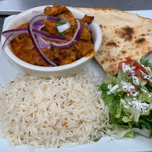 Wednesday – Chicken Jalfrezi