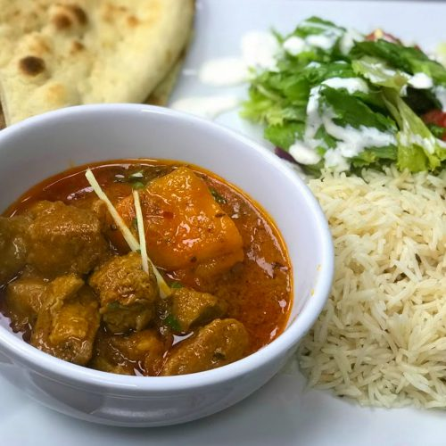 Monday – Lamb Curry