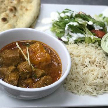 Friday – Lamb Curry & Potato Curry